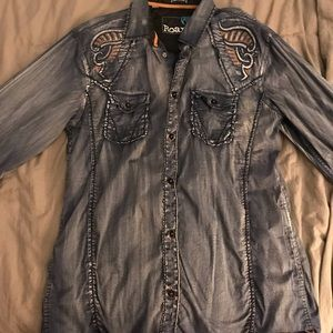 Roar Size Large Men's Shirt
